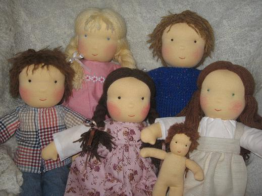 Куклы самоделки своими руками видео