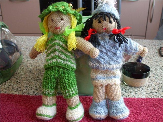 Куклы крючком своими руками